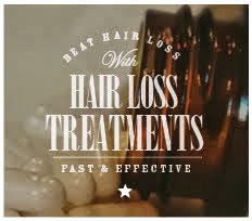 SUFFER FROM HAIR LOSS?