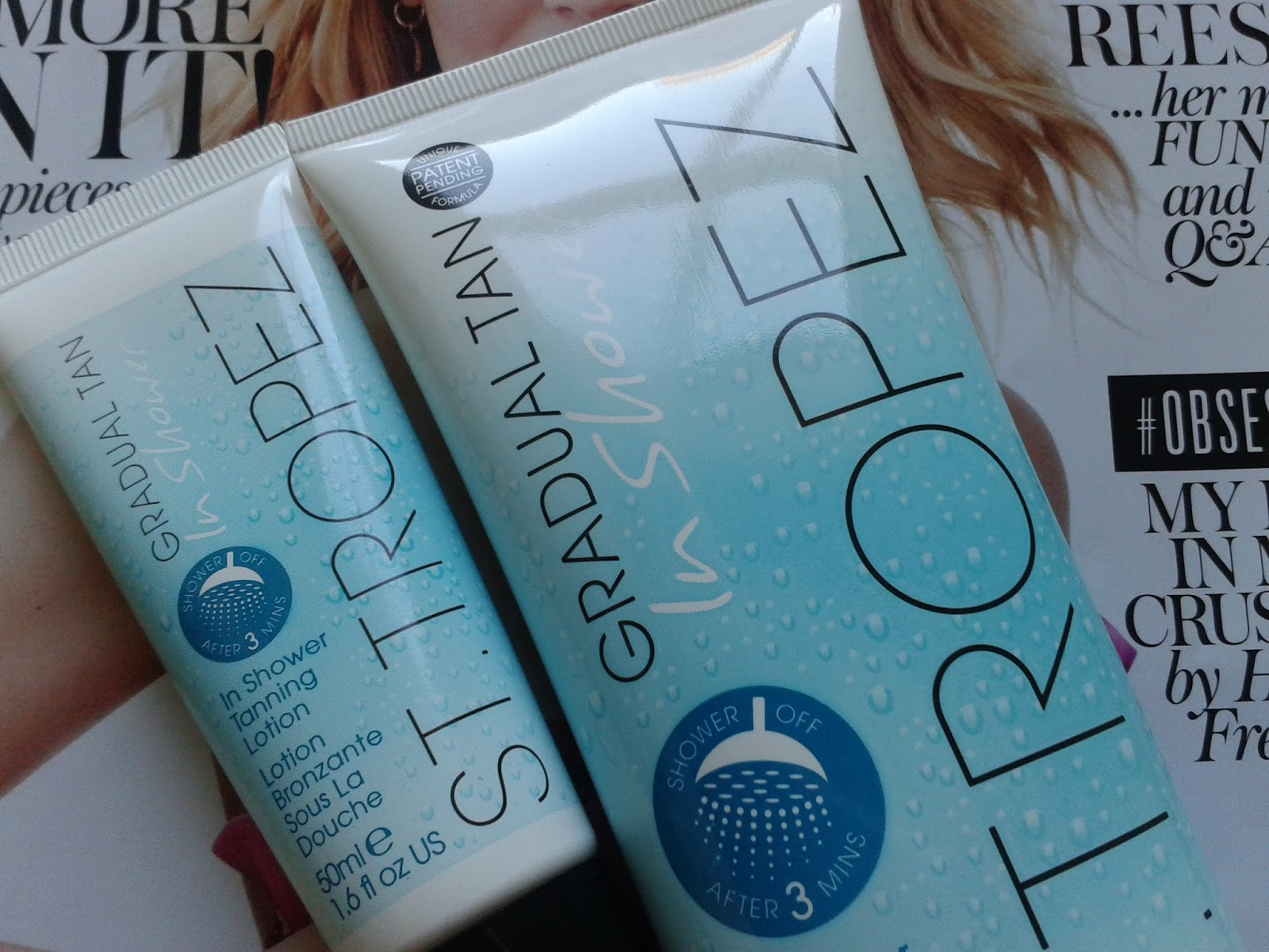 st tropez gradual tan in shower recension