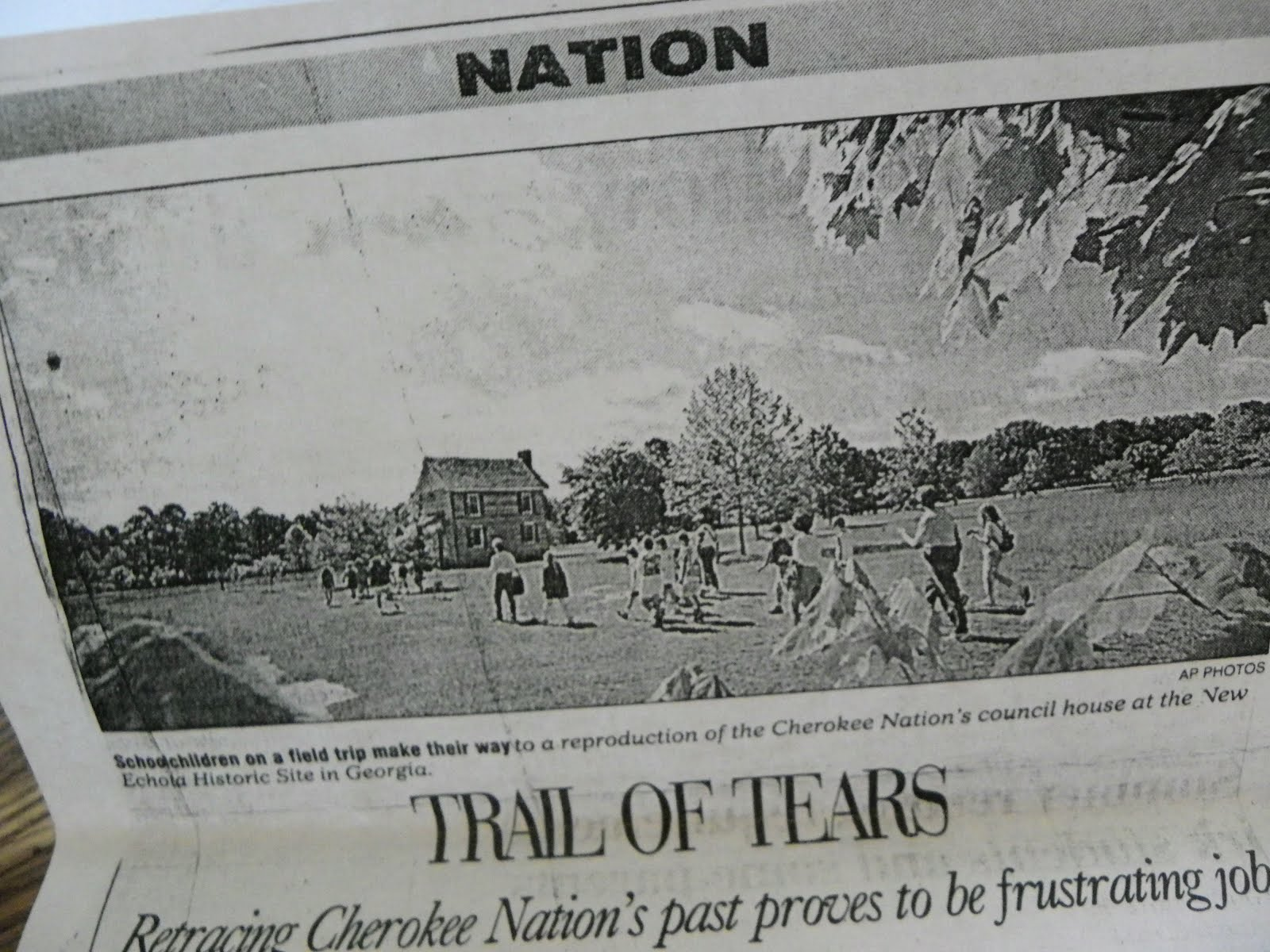 trail of tears article
