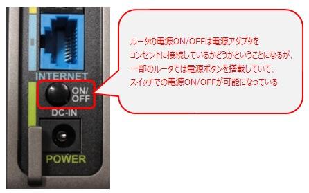 本体に電源ボタンが搭載されているタイプ