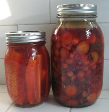 homemade carrot pickles
