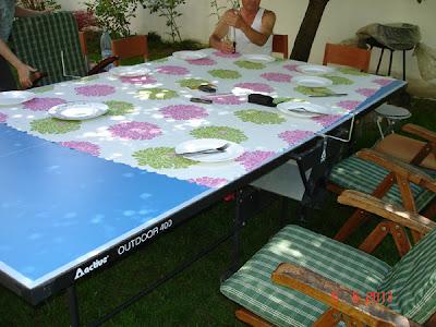 masa de ping-pong si de pranz