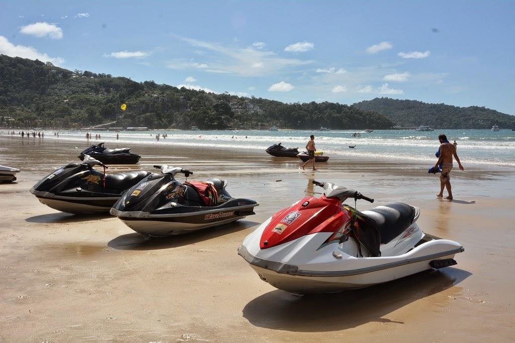 Patong Beach Phuket jet-skis