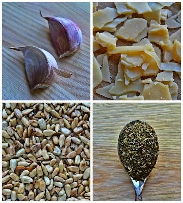 Szparagi zapiekane z serem - skladniki