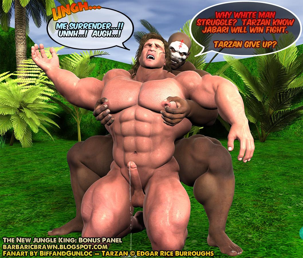 Barbaric Brawn Tarzan