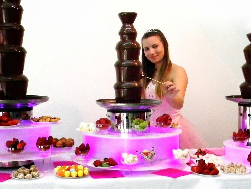 Cascada de chocolate Rosario