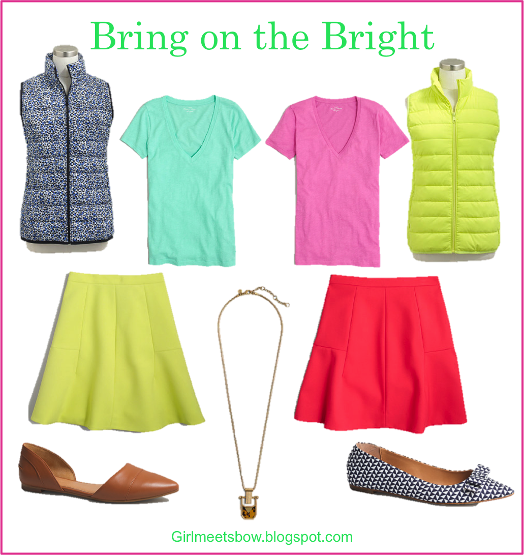 Color has Landed: J. Crew Factory New Arrivals