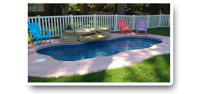 The pool guyz fiberglass swimming pools pool blowout sale for Used fiberglass swimming pools for sale