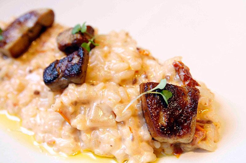 Arrozeria Manila Risotto - Foie Gras y Boletus
