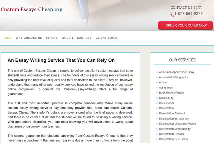 cheap custom writing services 7 dollar essay is a relatively cheap essay writing service get your custom essays written in time, and guaranteed excellent grades with the lowest price.