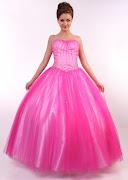 por favor dale click . vestido de anìƒos de tony bowls color lila