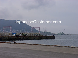 Japanese port of Hakodate copyright peter hanami 2010