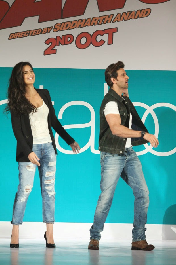 hrithik roshan katrina kaif bang bang movie hot wallpapers