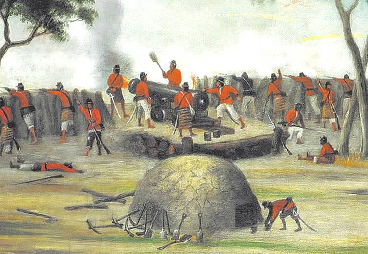 Batalla de Curupaytí (por Cándido López)