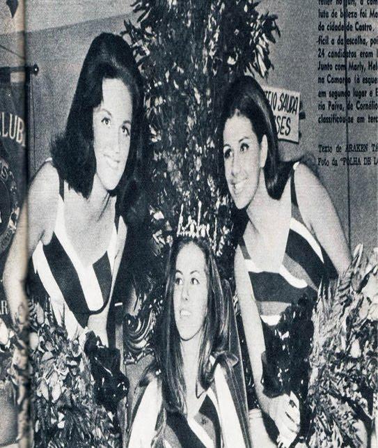 TOP 3 - MISS PARANÁ 1969