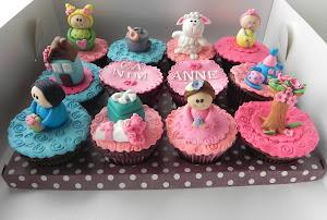 Annelerler için Cupcake Seti