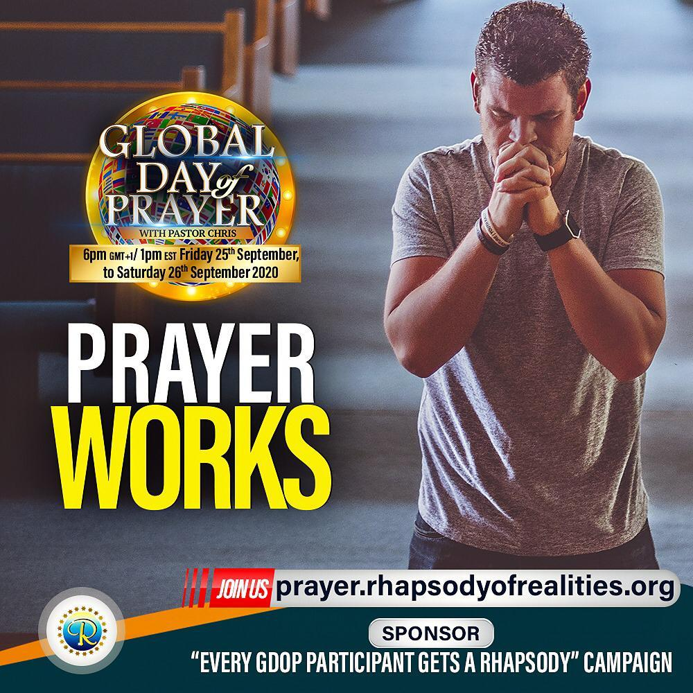 Global day of prayer with Rev Chris oyakhilome