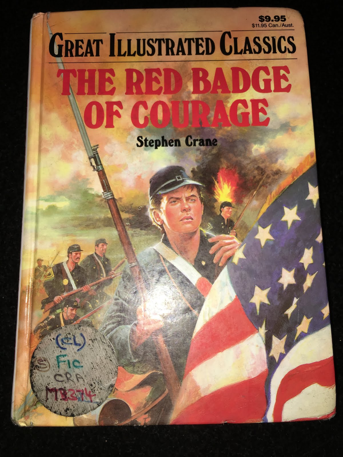 the true nature of war in the story of the red badge of courage by stephen crane Buy, download and read the red badge of courage ebook online in epub format for iphone, ipad, android, computer and mobile readers author: stephen crane isbn: 9781443432214.