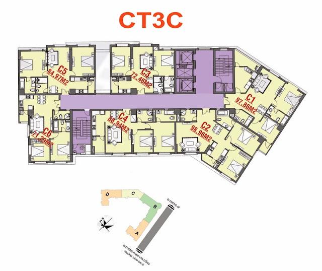 Thiết kế CT3C Cổ Nhuế