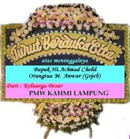 Bulletin Kahmi Lampung Ucapan Duka Cita