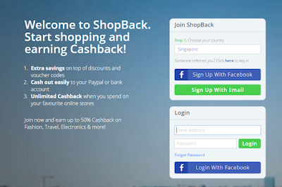 Shopback Register