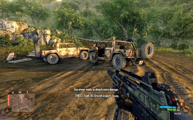 Crysis Warhead PC Games Screenshots