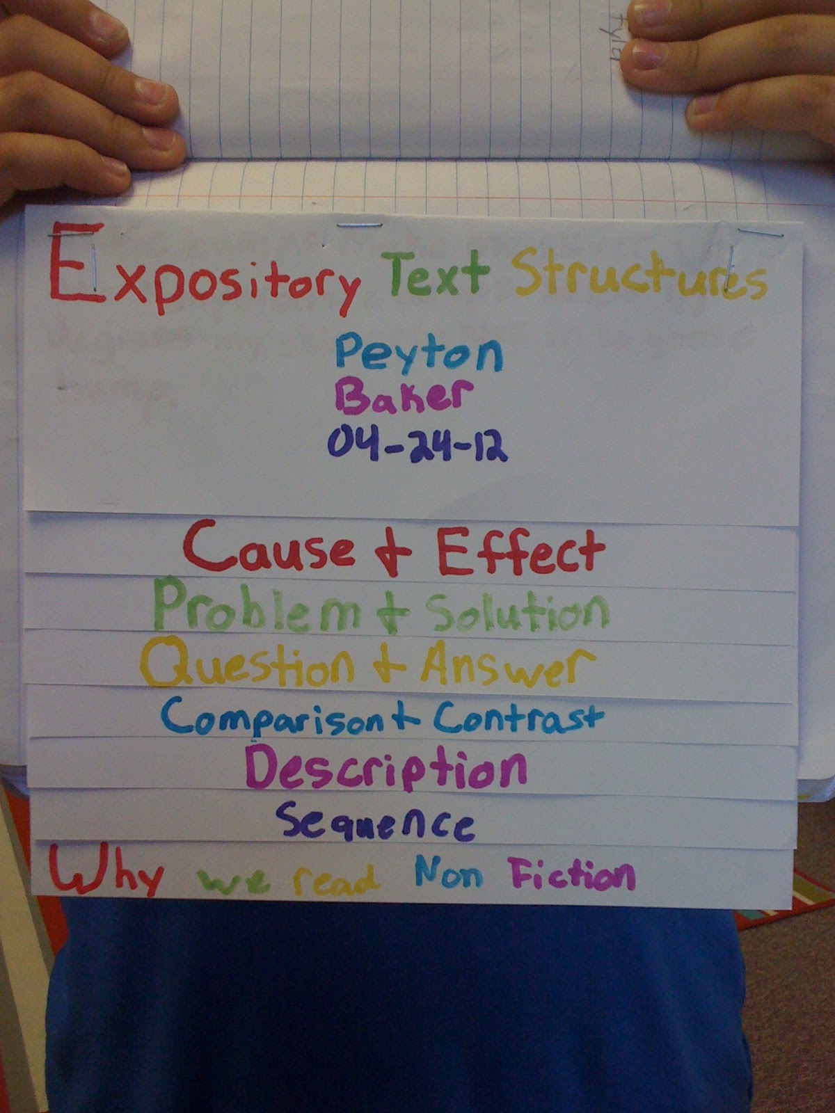 expository text essay Every student needs to master the skill of expository essay writing these tips can guide elementary, middle school, and high school writers with writing an expository essay.