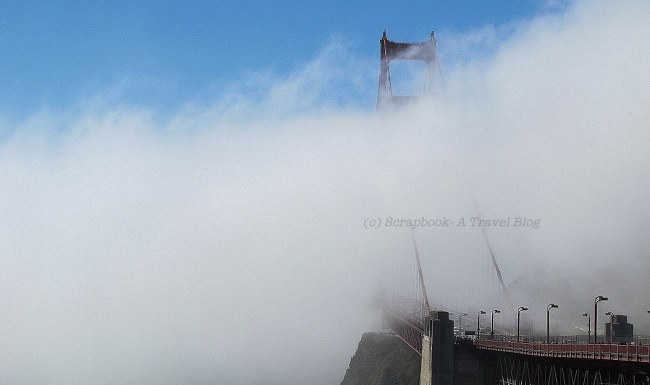 Golden Gate Bridge San Francisco Fog