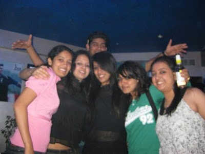 Sakshi with Friends