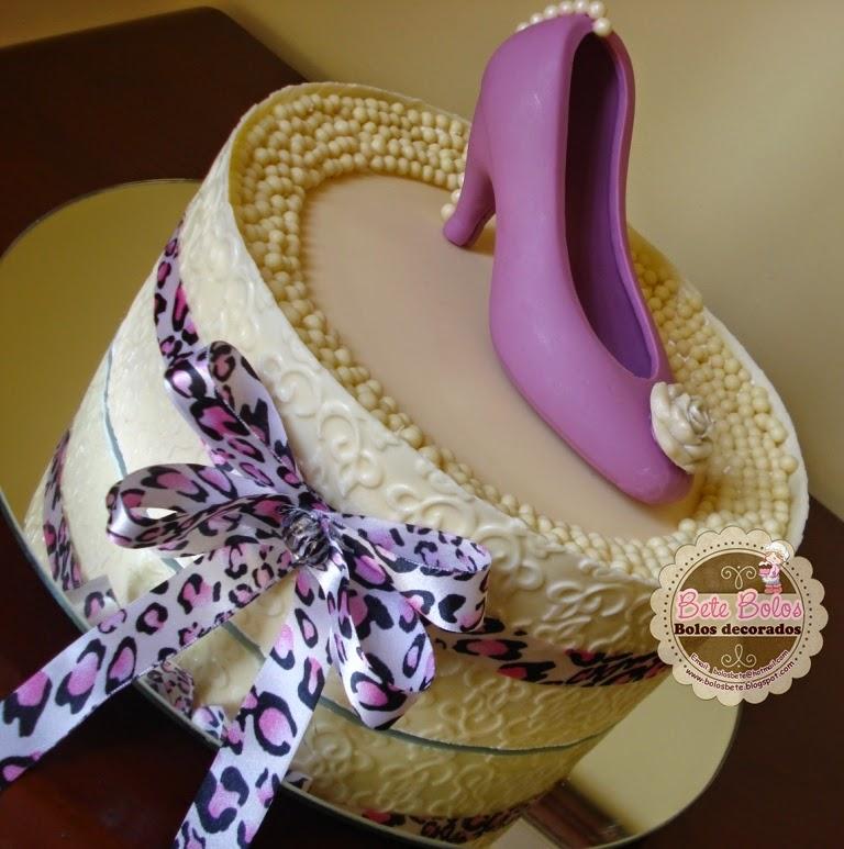 Textura e sapato em chocolate branco