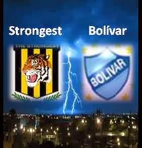 Clásico Strongest vs Bolívar 2013