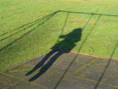 Swings shadow
