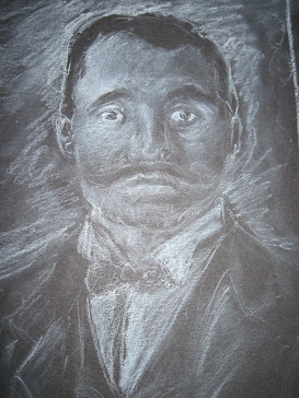 white charcoal and chalk
