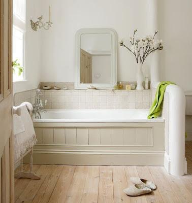 badrum, bathroom, jak urządzić, na ozdobnych nóżkach, Pomysł na..., retro, salle de bain, stara wanna, styl skandynawski, vintage, łazienka,