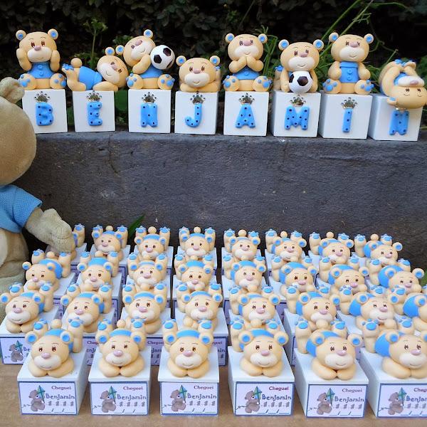 Lembrancinhas e Cubos de Ursinhos