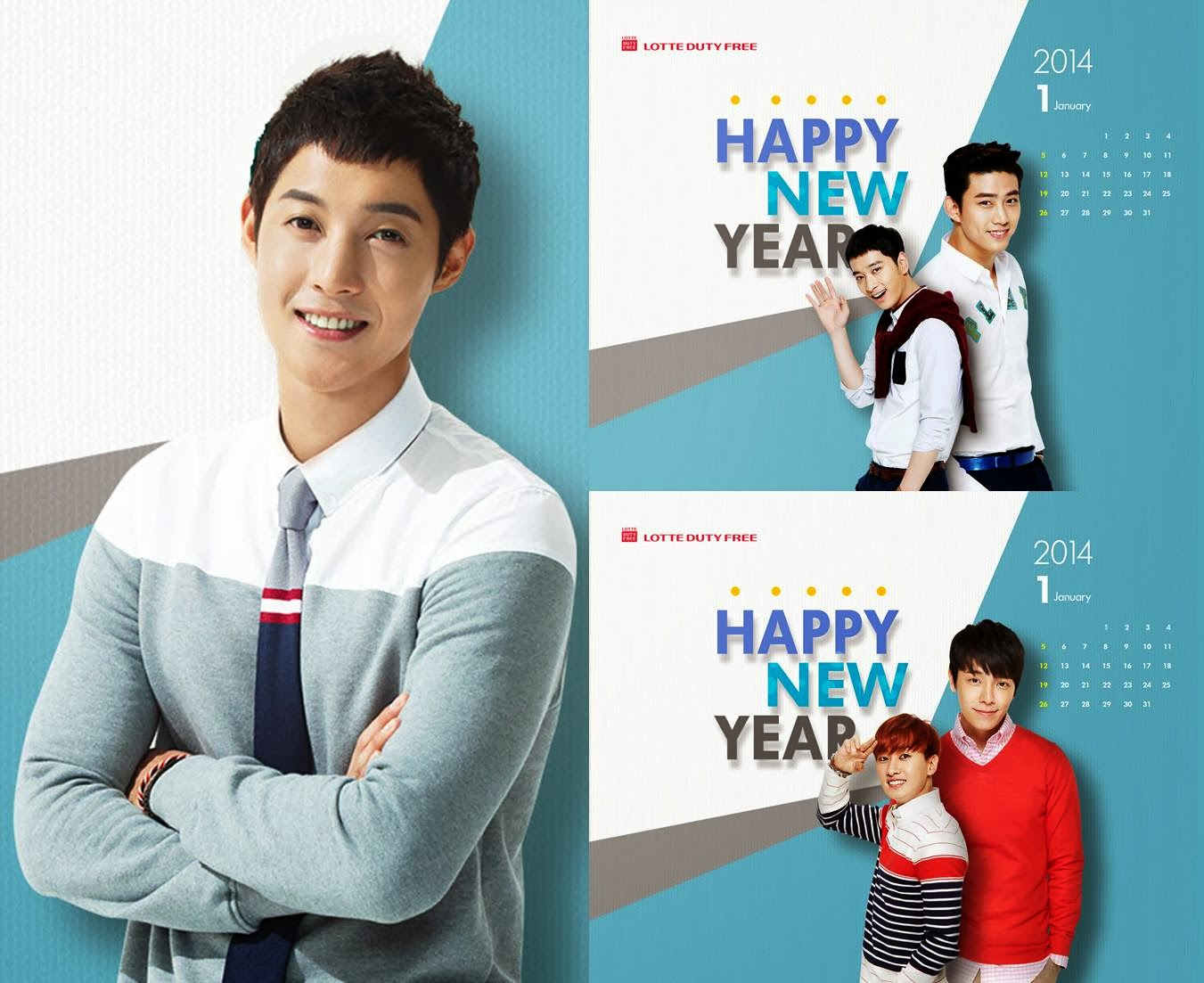 KIM HYUN JOONG, 2PM Y SUPER JUNIOR EN NUEVOS WALLPAPERS Y CALENDARIOS ...