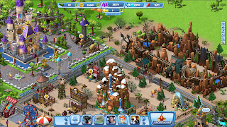 Coasterville Gameplay Screen facebook