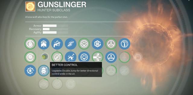 Destiny Gunslinger Skills