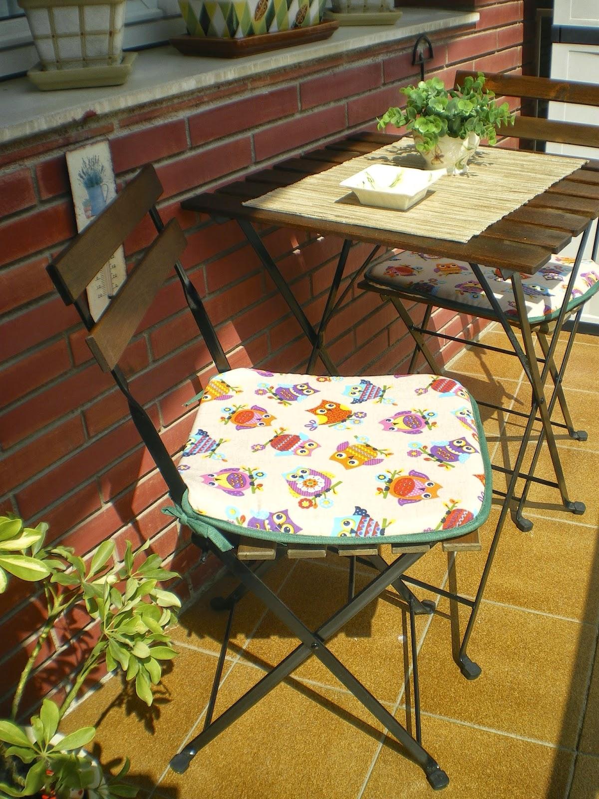 Los hobbies de louise labores y manualidades cojines - Cojines redondos para sillas ...