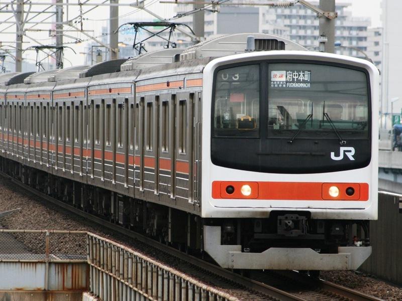 発車オーライ!: 【ウソ電】205系「京葉メルヘン」武蔵野線色