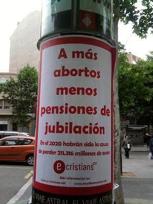 a más abortos menos pensiones de jubilación