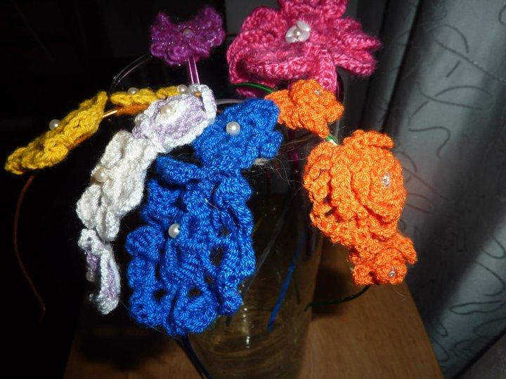 Chécheres del Día: Cintillos tejidos