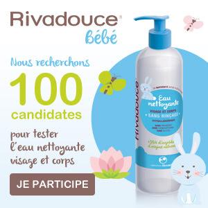 Test Produit Eau Nettoyante Rivadouce bébé !