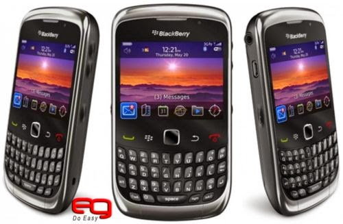 BLACKBERRY CURVE 3G 9300 with BBM/BIS/ Working NON RETAIL PACK