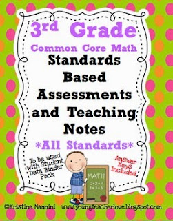 https://www.teacherspayteachers.com/Product/Standards-Based-Assessments-3rd-Grade-Math-ALL-STANDARDS-Common-Core-309199