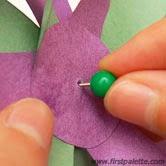 pinwheel printable กังหันตัดตามแบบ กังหันหลายชั้น  กังหันดอกไม้ซ้อนกลีบ