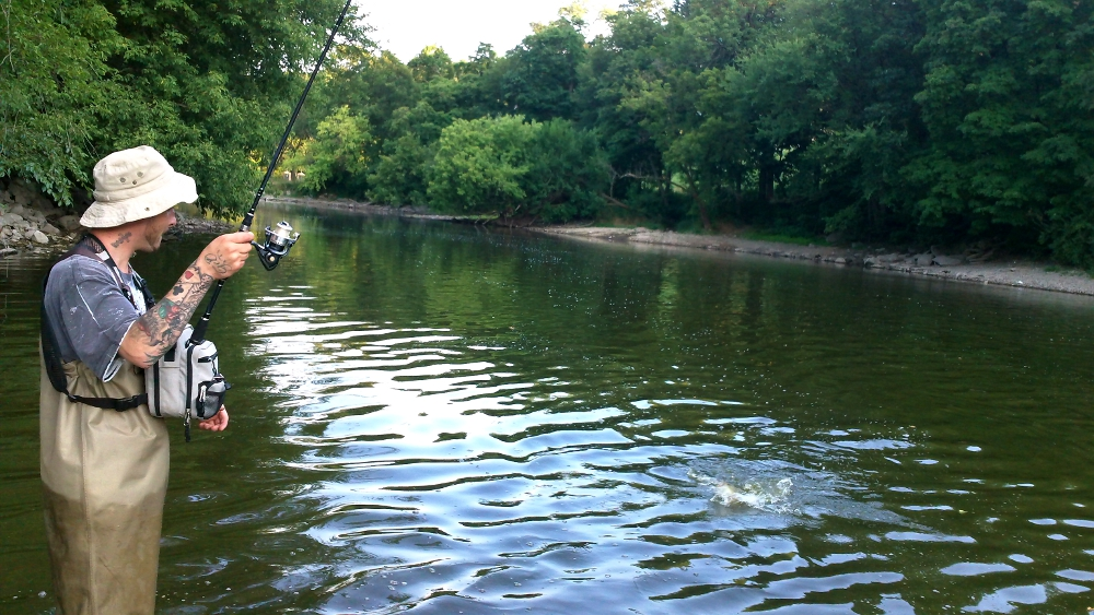 Illinois wisconsin fishing fox river illinois smallmouth for Illinois river fishing