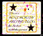 Noteworthy Archive Award
