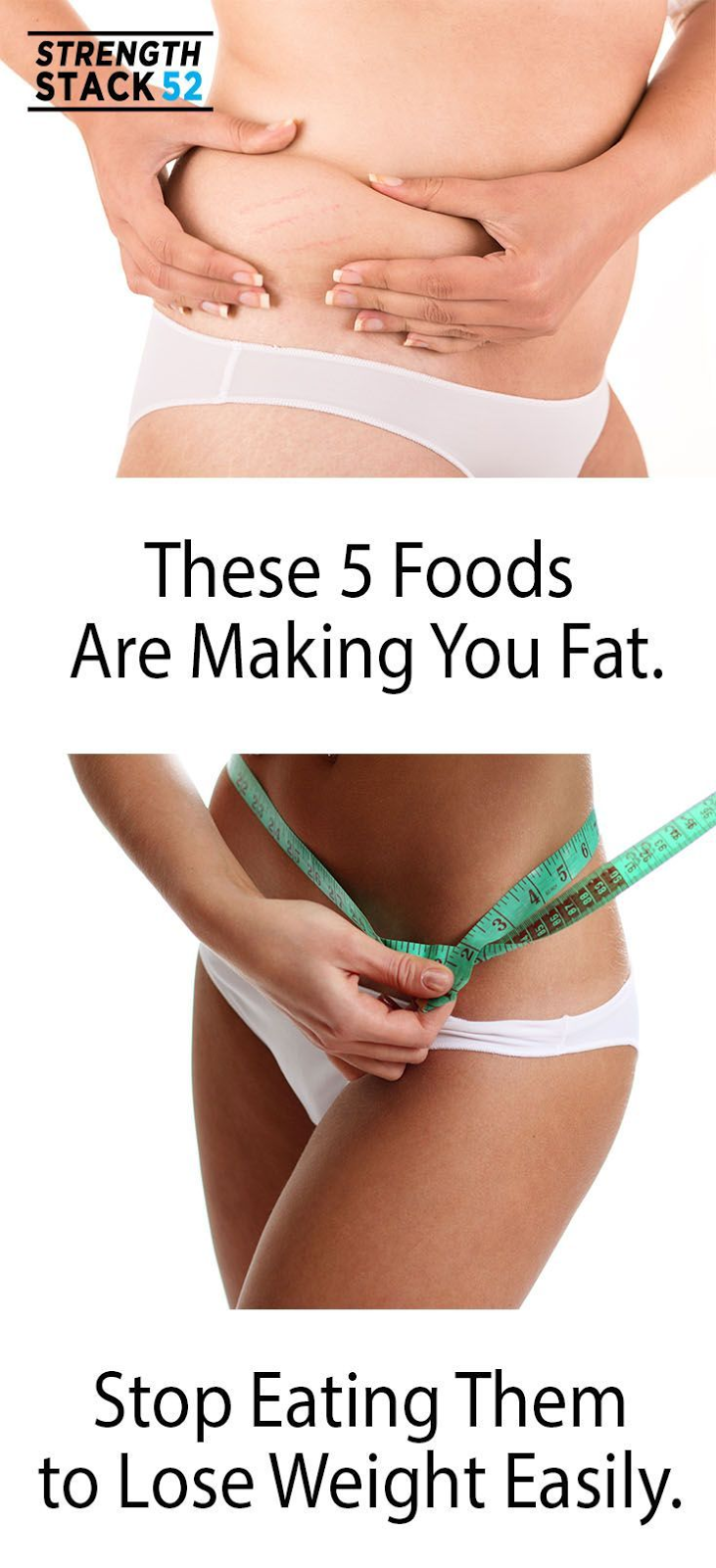 These Five Foods Are Making You Fat. Stop Eating Them.