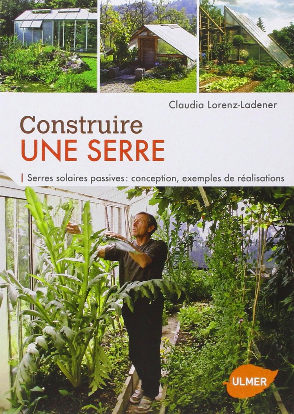livre pour apprendre à construire une serre